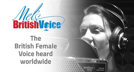 Mel Elliott - Professional Female British Voiceover